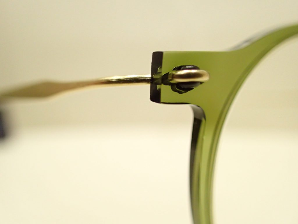LINDBERG(リンドバーグ) n.o.w お客様にオーダーメイドで素敵な眼鏡を作っていただきました。