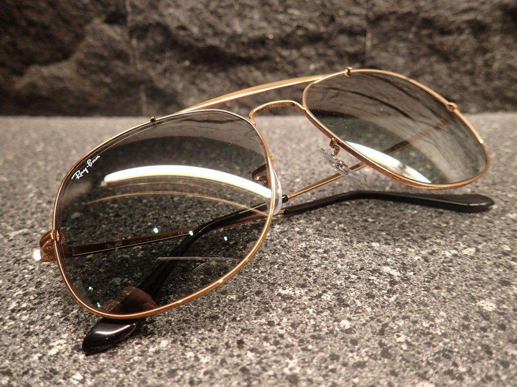 Ray Ban(レイバン)RB3561 1987年当時に販売されていたメタルサングラスが復刻されました。