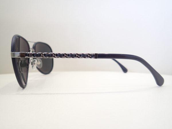 CHANEL(シャネル) 4219Q 女性の方でも掛けやすい上品なパイロットシェイプのサングラスのご紹介です。 CHANEL