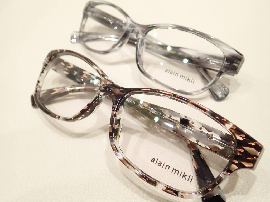 alain mikli(アランミクリ) 「A03023」 新色カラーが店頭初入荷しました。