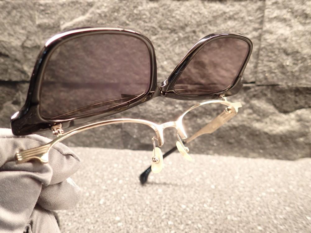 999.9 feelsun「F-05NPM」跳ね上げ式のサングラスが再入荷しました。