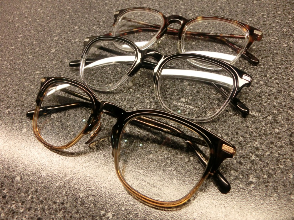 OLIVER PEOPLES(オリバーピープルズ)「Westlyn」分解してみました。