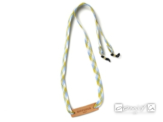 BRIGHTLY COLORS GLASS CODE / White&Light Blue (SG1010F)