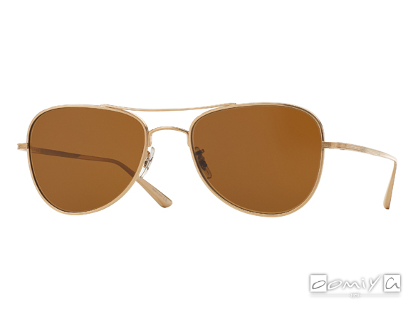 OLIVER PEOPLES × THE ROW EXECUTIVE SUITE col.BG-BROWN
