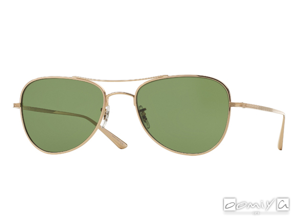 OLIVER PEOPLES × THE ROW EXECUTIVE SUITE col.G-GREEN