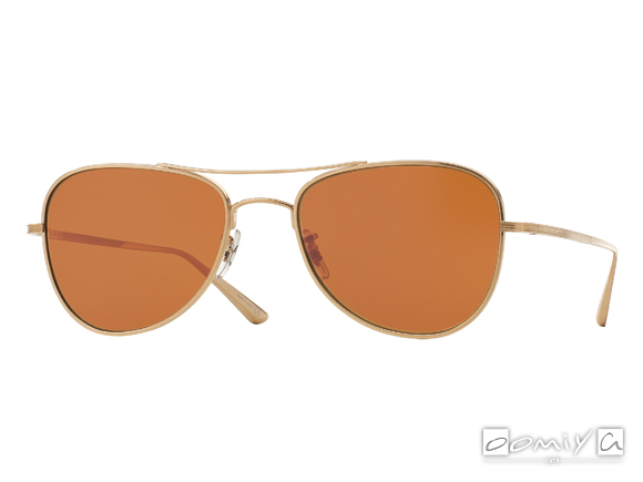 OLIVER PEOPLES × THE ROW EXECUTIVE SUITE col.BG-PERSIMMON