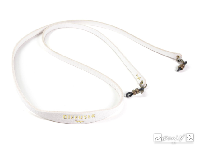 DIFFUSER (ディフューザー)|ブレスコード SHRINK LEATHER SOFT BRACECODE / White (SG1047D)