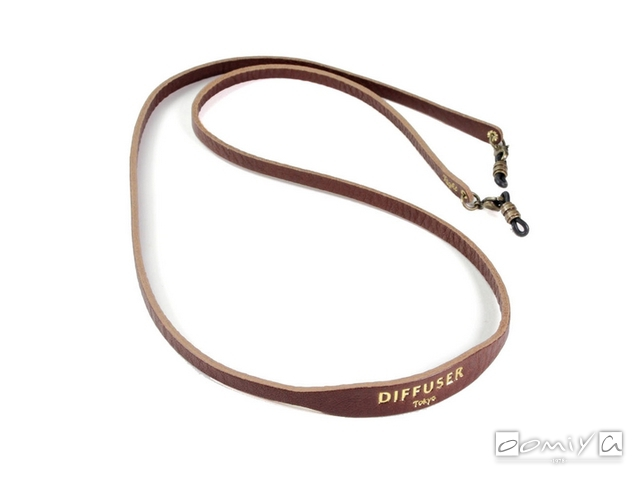 DIFFUSER (ディフューザー)|ブレスコード SHRINK LEATHER SOFT BRACECODE / Dark Brown (SG1047B)
