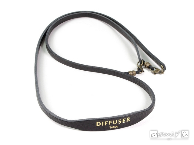 DIFFUSER (ディフューザー)|ブレスコード SHRINK LEATHER SOFT BRACECODE / Black (SG1047A)