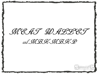 CHROME HEARTS (クロムハーツ)|MEAT WALLET col.MBK-MBK-P フレーム - メタル