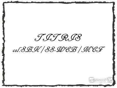 CHROME HEARTS (クロムハーツ)|TITRIS col.SBK/SS-WEB/MCF フレーム