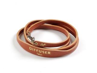 DIFFUSER (ディフューザー)|ブレスコード SHRINK LEATHER SOFT BRACECODE / Orange (SG1047C)