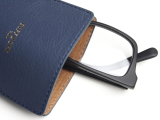 DIFFUSER (ディフューザー)|アイウエアケース INNER POCKET EYEWEAR CASE / Blue Grey & Light Brown (SG1061D)