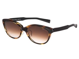 col.6010 ブラウンササ×ブラック / レンズカラー:ダークブラウングラデーション