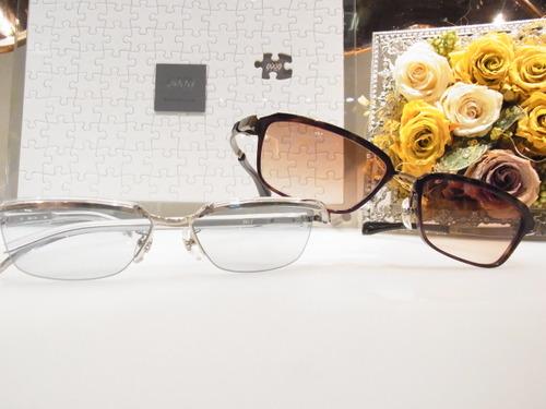 カラーレンズでメガネを楽しむ★999.9