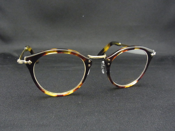 OLIVER PEOPLES OP-505 を鼈甲で