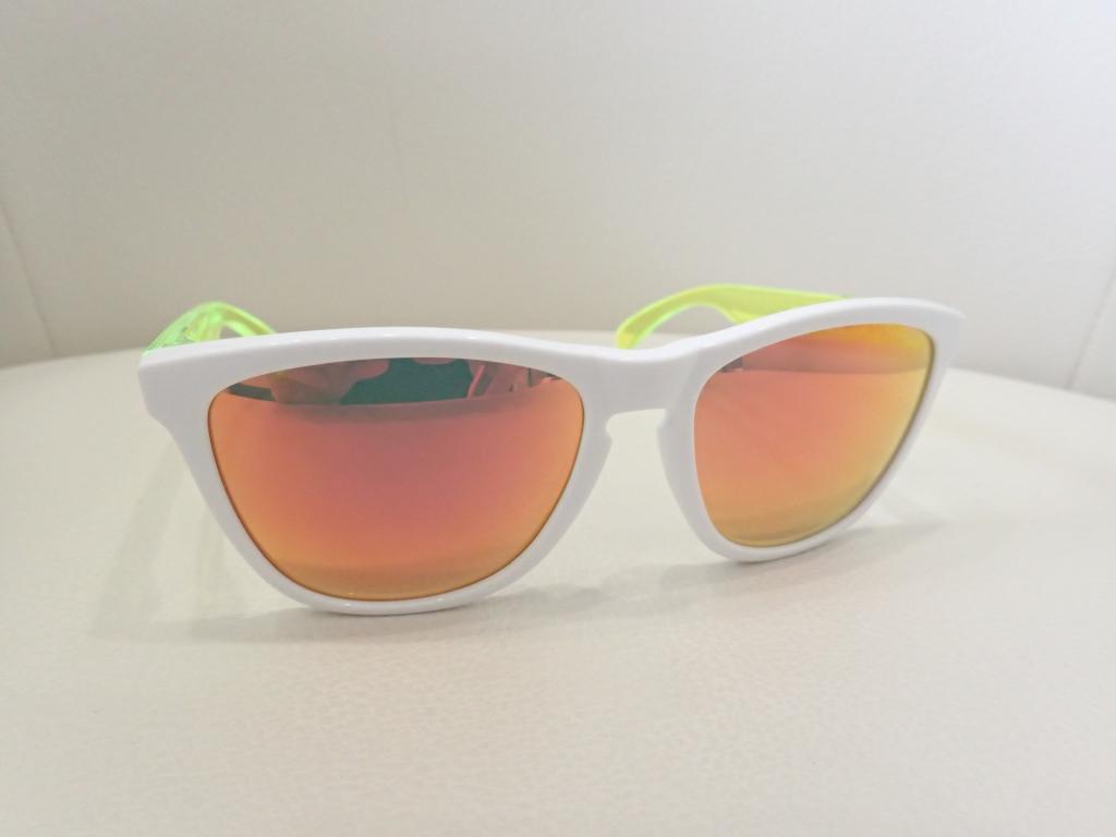OAKLEY(オークリー) Frogskins OCE(フロッグスキン OCE) K様のサングラスが仕上がりました。
