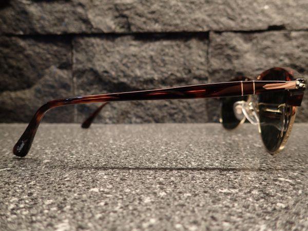 Persol(ペルソール) 8649S 名作モデル『649』がベースモデルのブロー×パイロットシェイプの新作サングラス-Persol