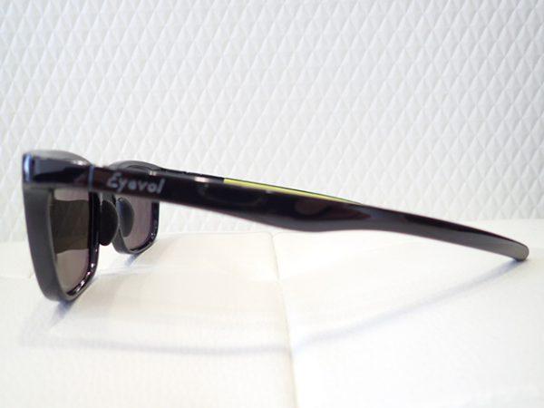 アイヴォル「HEATHⅡ」機能性+デザイン性 スポーツサングラス-Eyevol