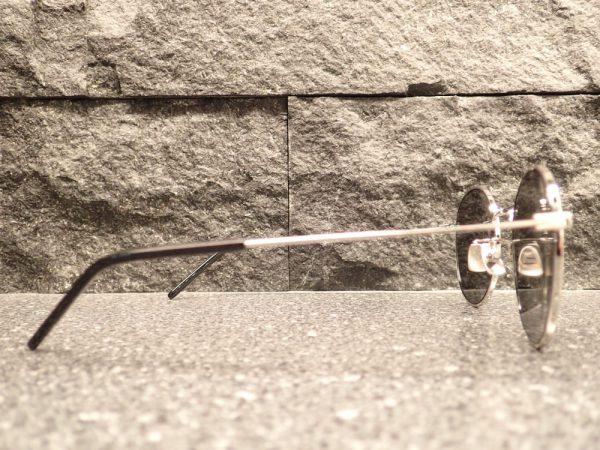 サンローラン「SL250」モードなラウンドミラーサングラス-SAINT LAURENT