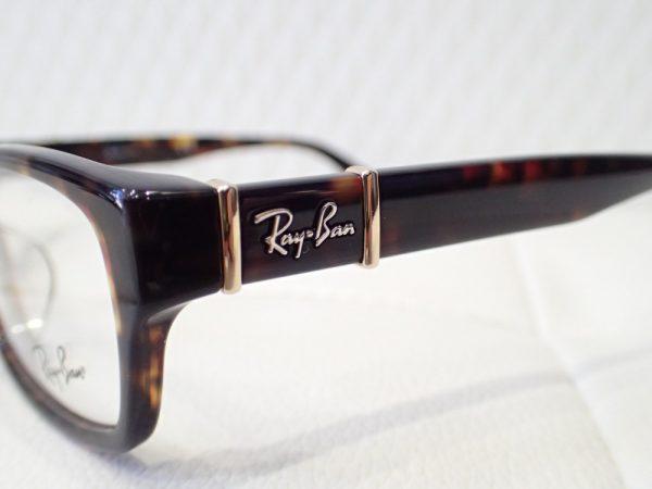 レイバン「RB5198」スクウェアシェイプメガネフレーム-Ray Ban