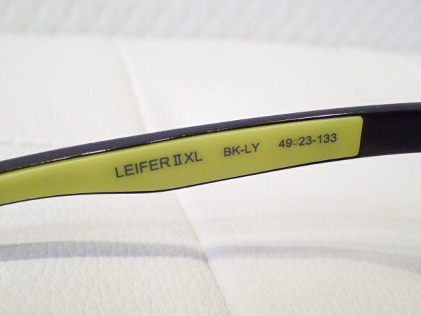 アイヴォル「LEIFERⅡXL」ボストンシェイプ スポーツサングラス-Eyevol