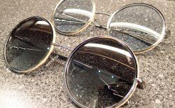 シャネル「CH4250」ラウンドシェイプのサングラス