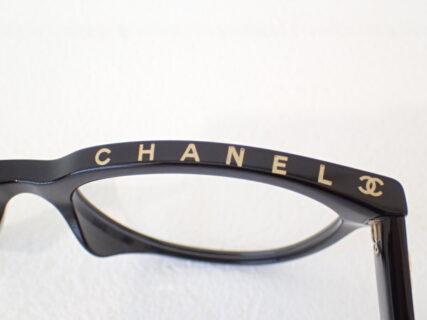 シャネル「3394A」フロント上部にシャネルロゴ AW新作メガネフレーム