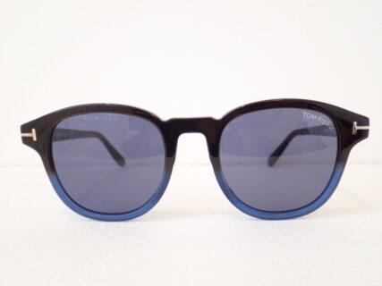 トムフォード「TF752」2色使いバイカラーサングラス