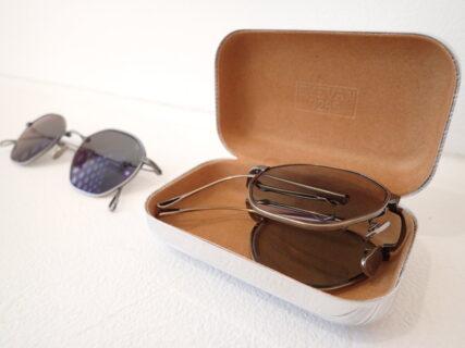 アイヴァン7285「803」技巧を凝らした折り畳みサングラス。