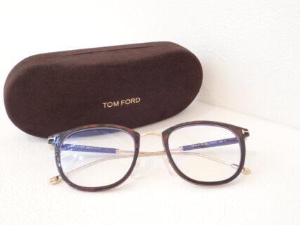 トムフォード「TF5612B」上品なメタルコンビネーションフレーム