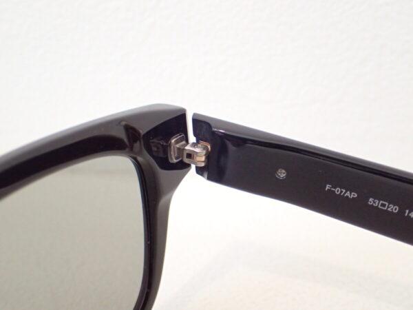 フォーナインズフィールサン「F-07AP」スクウェアシェイプ 使いやすいシンプルサングラス-999.9 feelsun