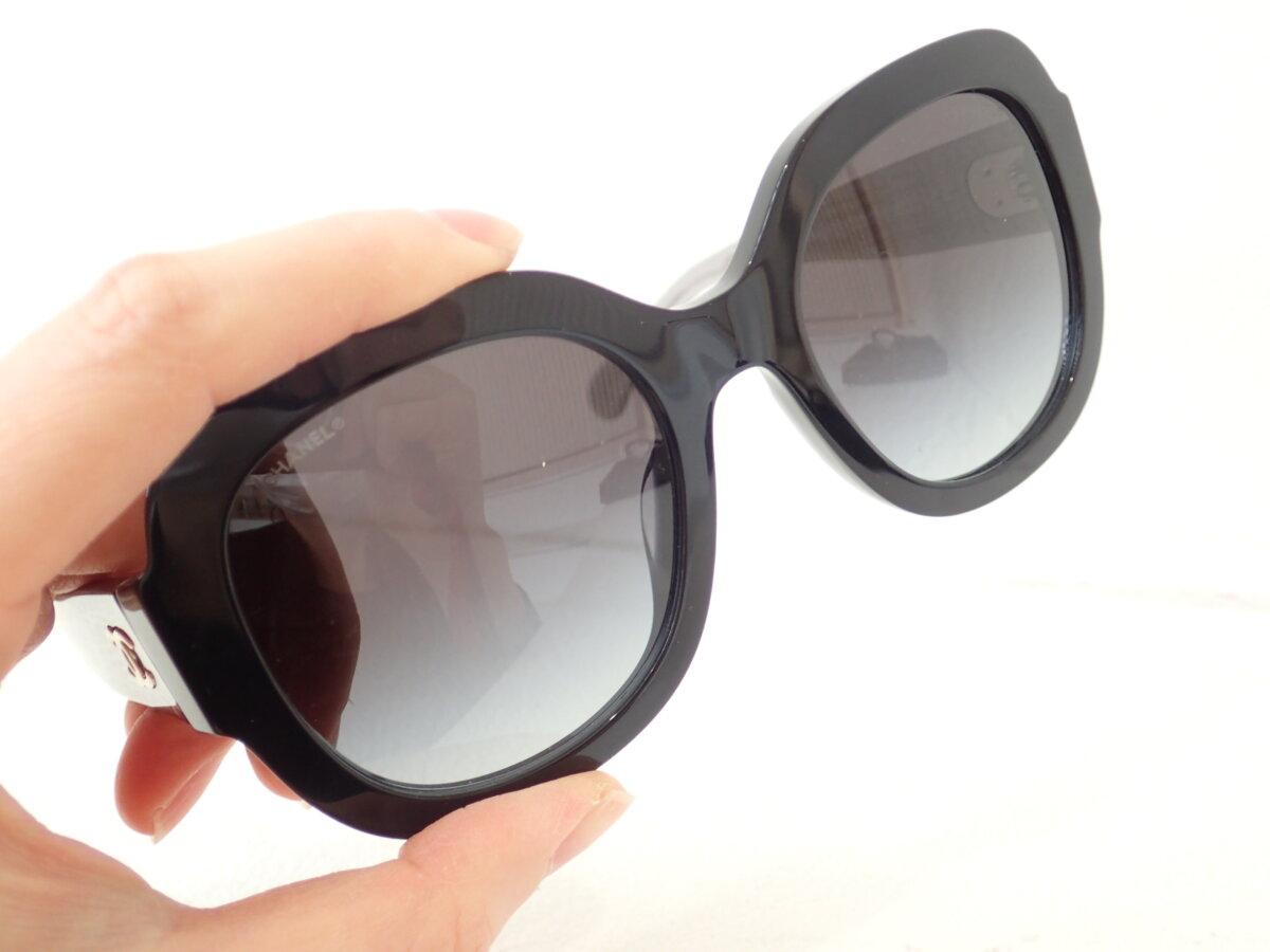 CHANEL(シャネル)の外国風大きめサングラスをご紹介!!|「5433A」