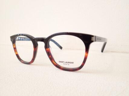 オシャレ度がアップするバイカラーのメガネフレーム|サンローラン(SAINT LAURENT)「SL30」