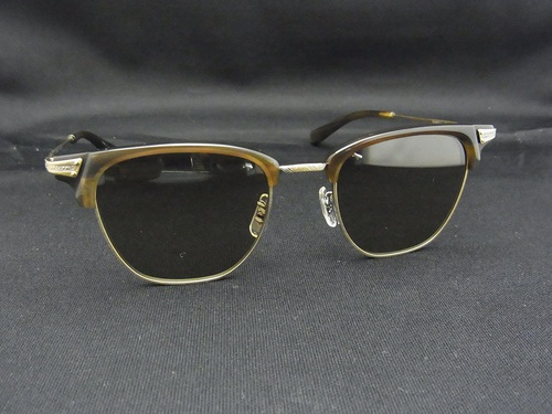 OLIVER PEOPLES Banks Baffalo Horn