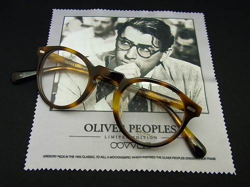 OLIVER PEOPLES Gregory Peckモデル