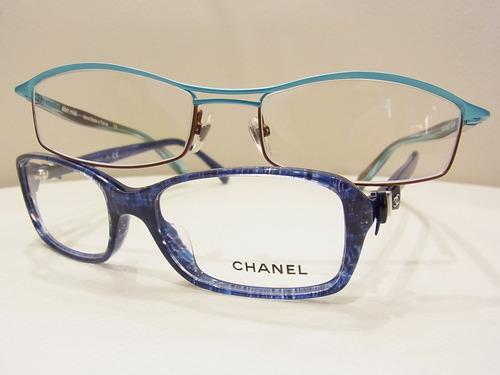 メガネライフを楽しむ★ブルーカラーのフレーム