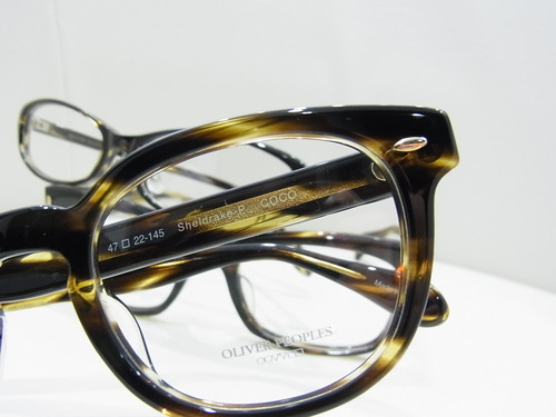 COCOカラーの魅力★OLIVER PEOPLES
