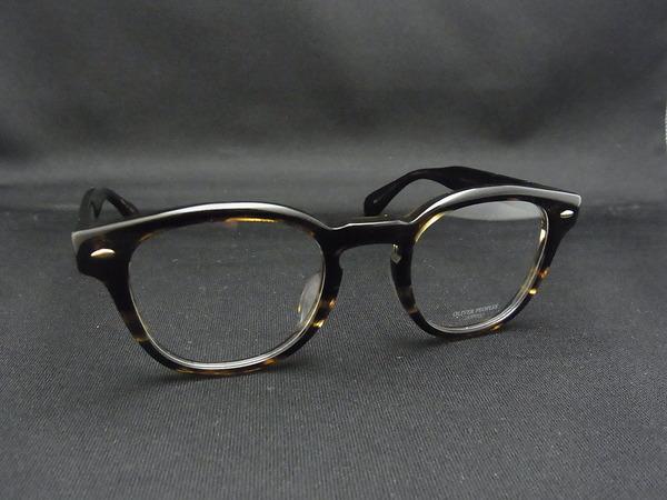 OLIVER PEOPLES Sheldrake をサングラスに-加工