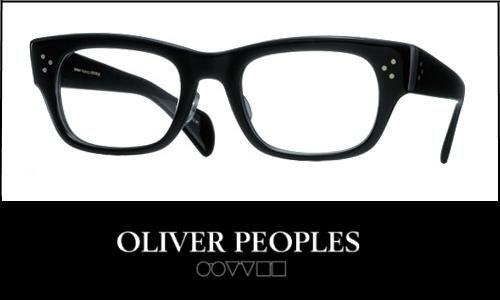 新規取り扱いブランド! OLIVER PEOPLES