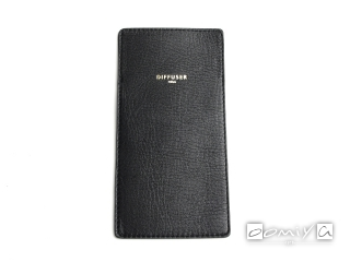 INNER POCKET EYEWEAR CASE / Black & Light Brown (SG1061A)