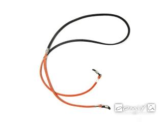 CANDY TONE STICH GLASS CODE / Black & Orange (SG1066H)