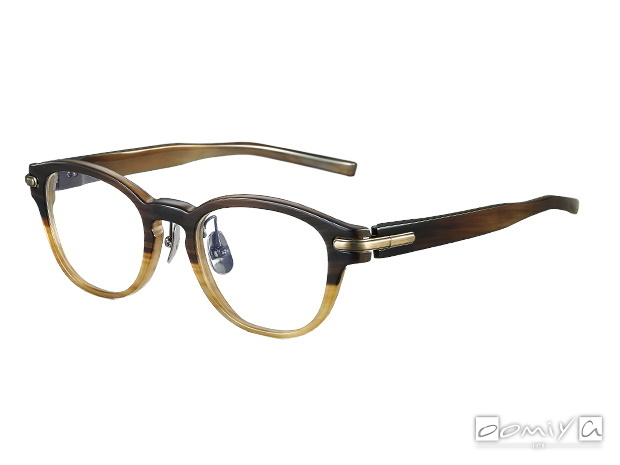 NPM-13BF BROWN-TWO TONE × ANTIQUE GOLD